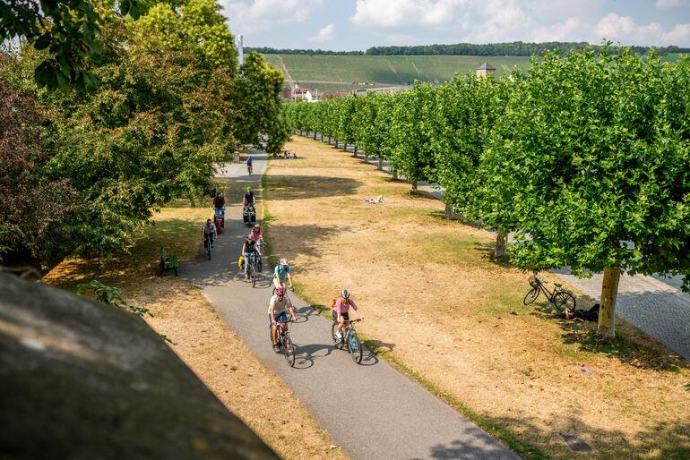 Foto: Radfahrer