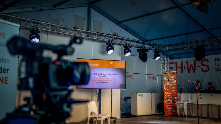 Kulturstunden auf der Medienbühne - Mainfranken-Messe 2021