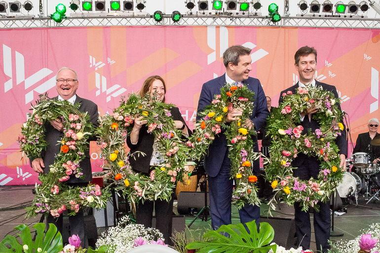 Die Landesgartenschau 2018 ist eröffnet.