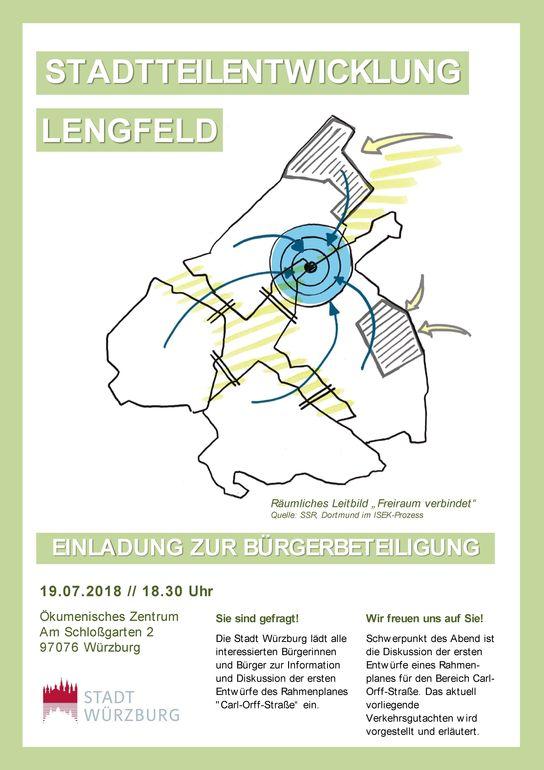 Plakat Beteiligung Lengfeld 19.7.18-