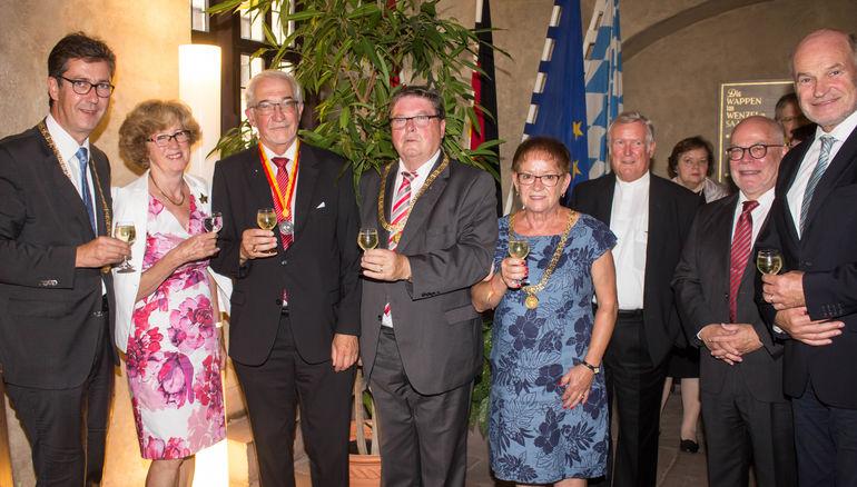 Behr-Medaille an Dr. Paul Beinhofer