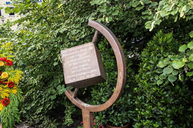 Denkmal für die ermordeten Sinti und Roma am Paradeplatz
