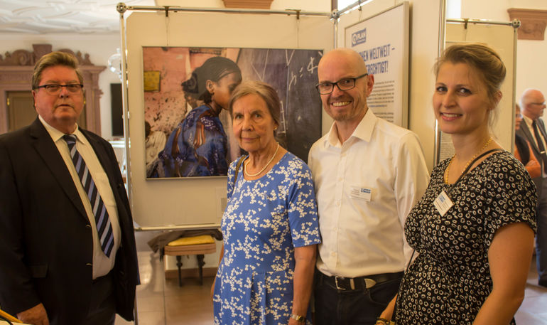 Ausstellungseröffnung von Plan International