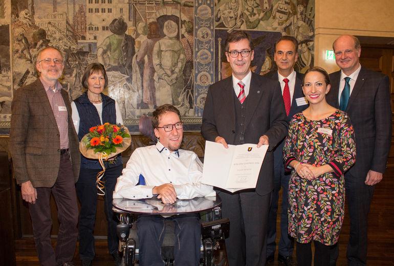 Bürgersozialpreis Julian Wendel