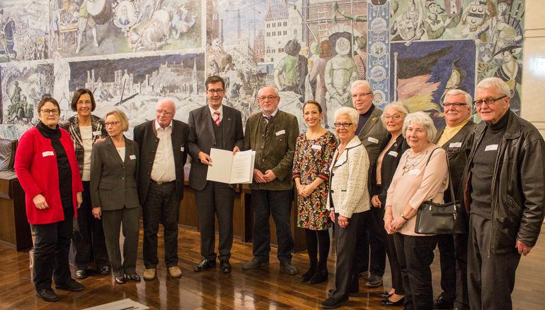 Bürgersozialpreis Sonderpreis Seniorenvertretung