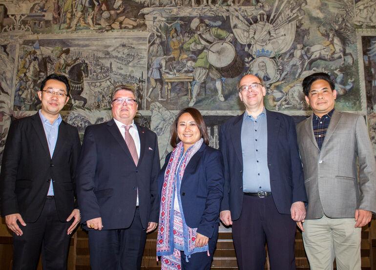 Thailändische Delegation