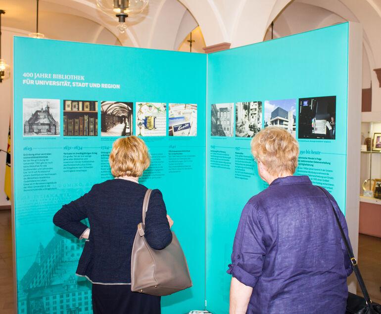 Ausstellung 400 Jahre Universitätsbibliothek