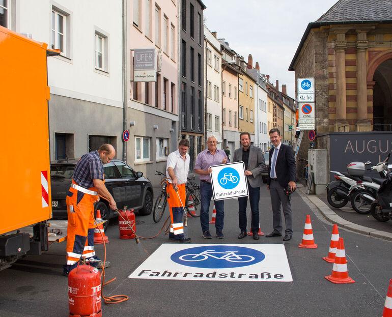 Erste Fahrradstraße