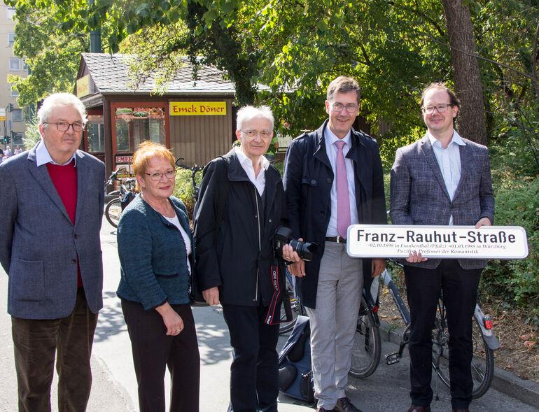 Straßenbenennung Franz Rauhut