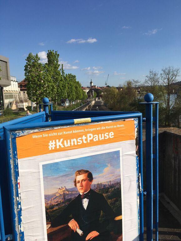 Plakat #KunstPause