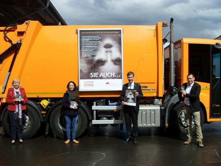 Stadt Würzburg verstärkt Öffentlichkeitsarbeit zu Hilfsangeboten: