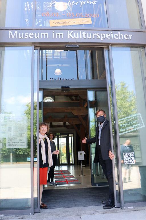 Wiedereröffnung des Museums im Kulturspeicher: