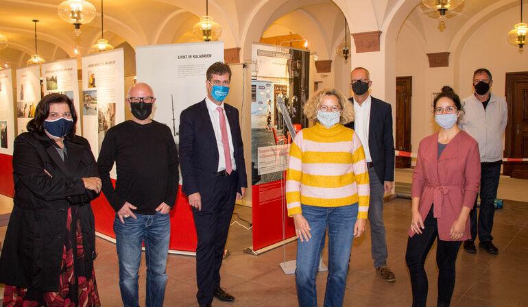 Gelebte Humanität in Lampedusa - Ausstellung im Rathaus