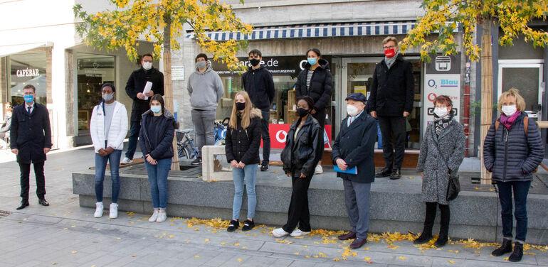 Denkort Deportationen Spiegelstraße