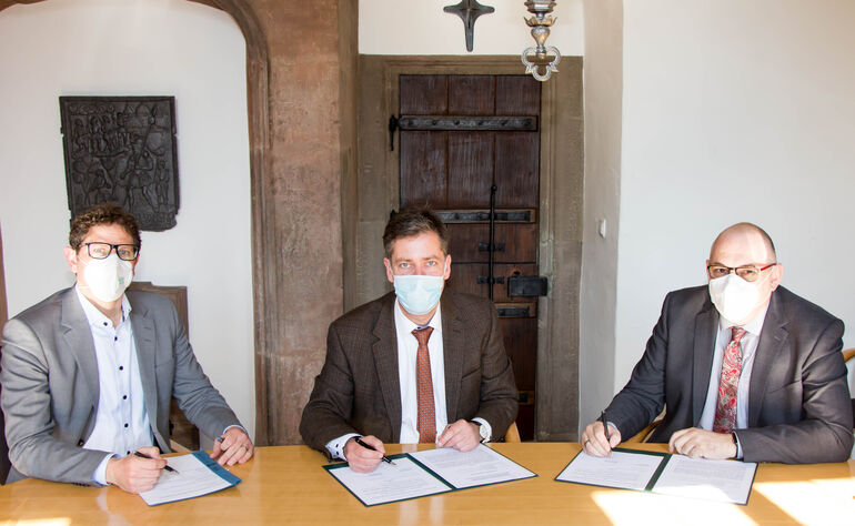 Kooperation Reichenberg Hochwasserschutz