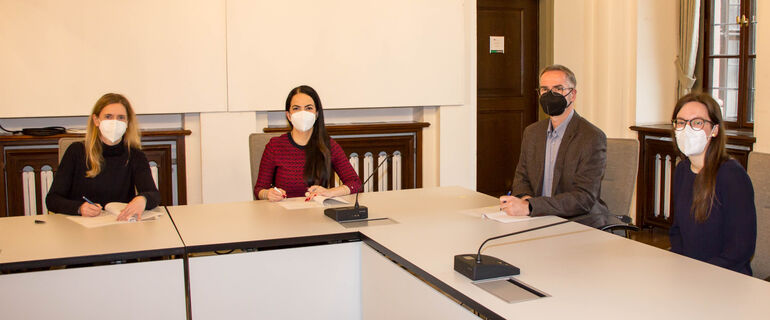 Kooperationsvereinbarung Bildungsbüro Universität