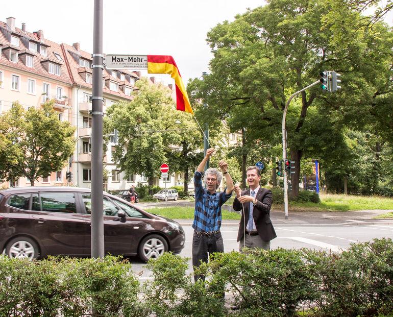 Straßenbenennung Max Mohr-2