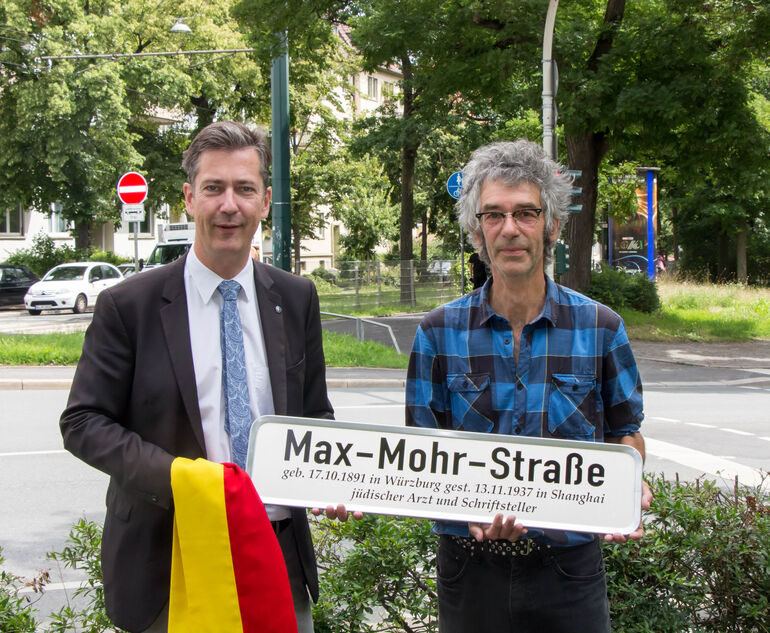 Straßenbenennung Max Mohr-1