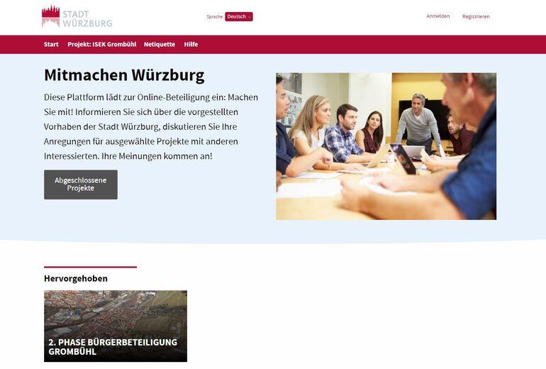 Consul Beteiligungsplattform Würzburg mitmachen