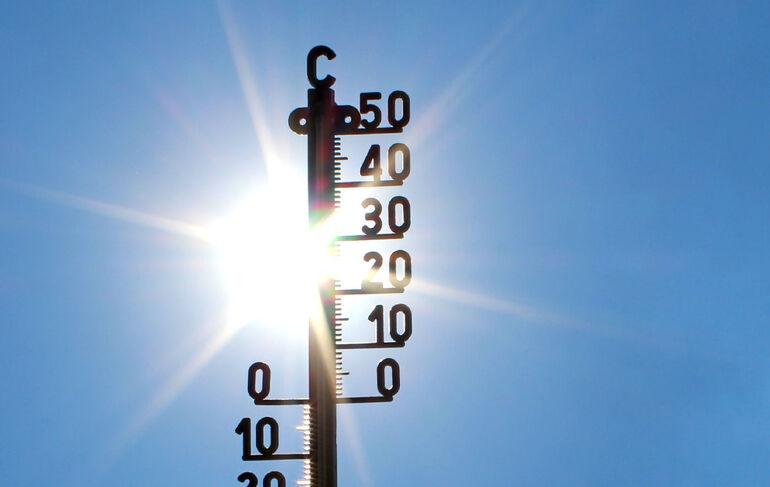 Klimahitze Sommer in der Stadt