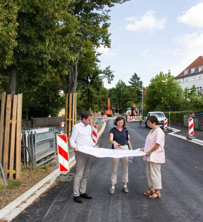 Baustellen Greisingstraße